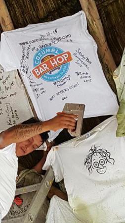 cozumel bar hop tshirt